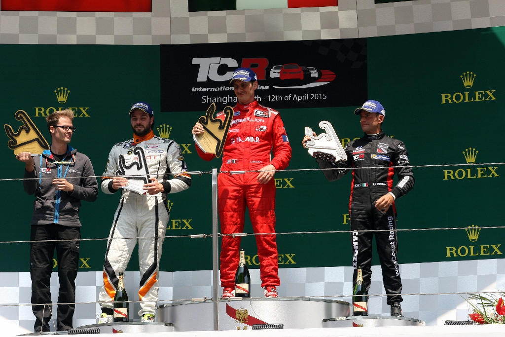 TCR International Series China, Shanghai 10 - 12 April 2015