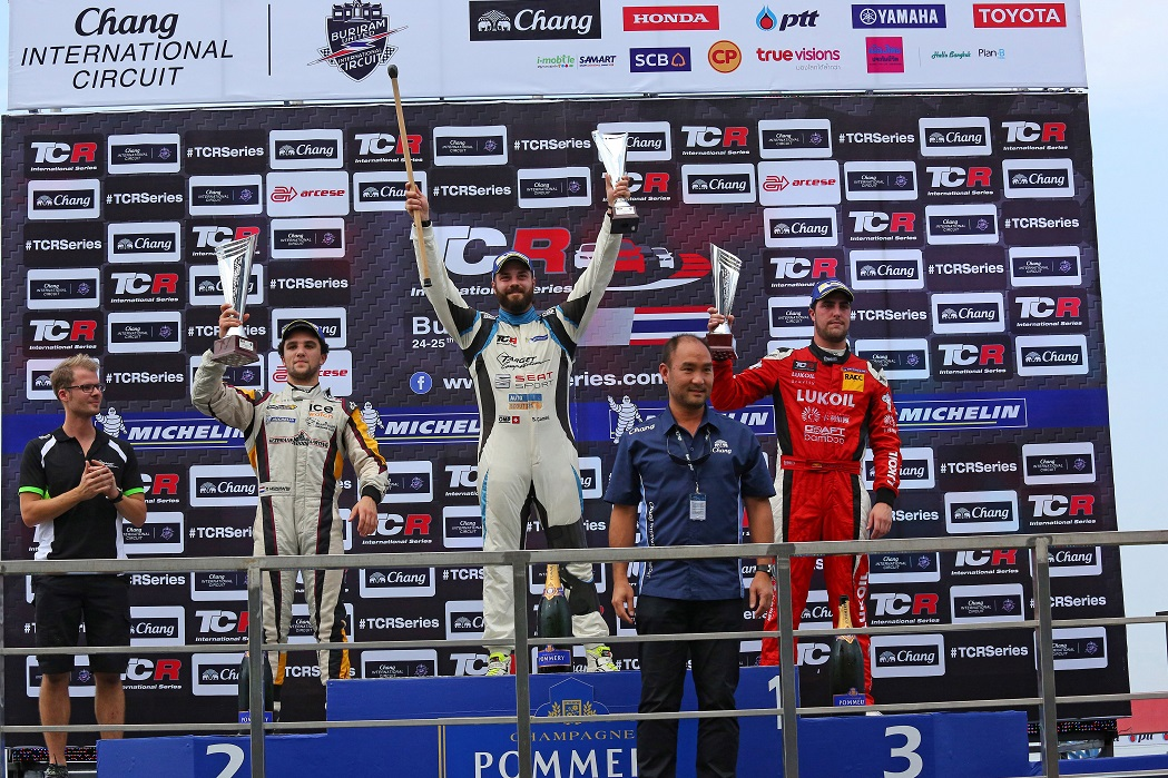 TCR series Thailand, Buriram 23 -25 October 2015