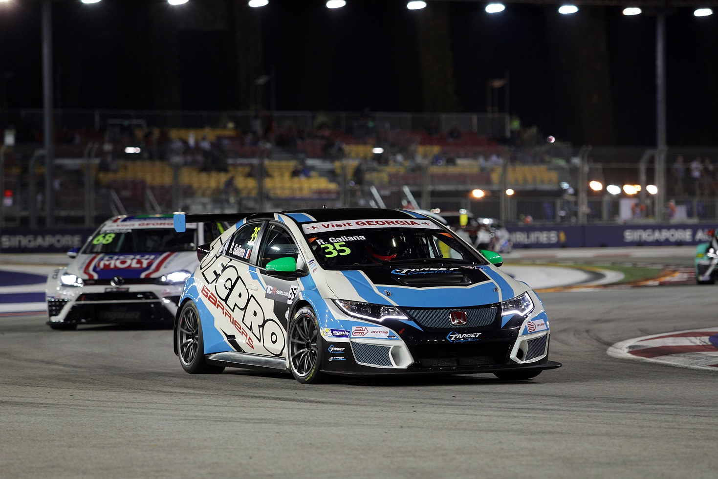 TCR International Series Singapore 16 - 18 September 2016