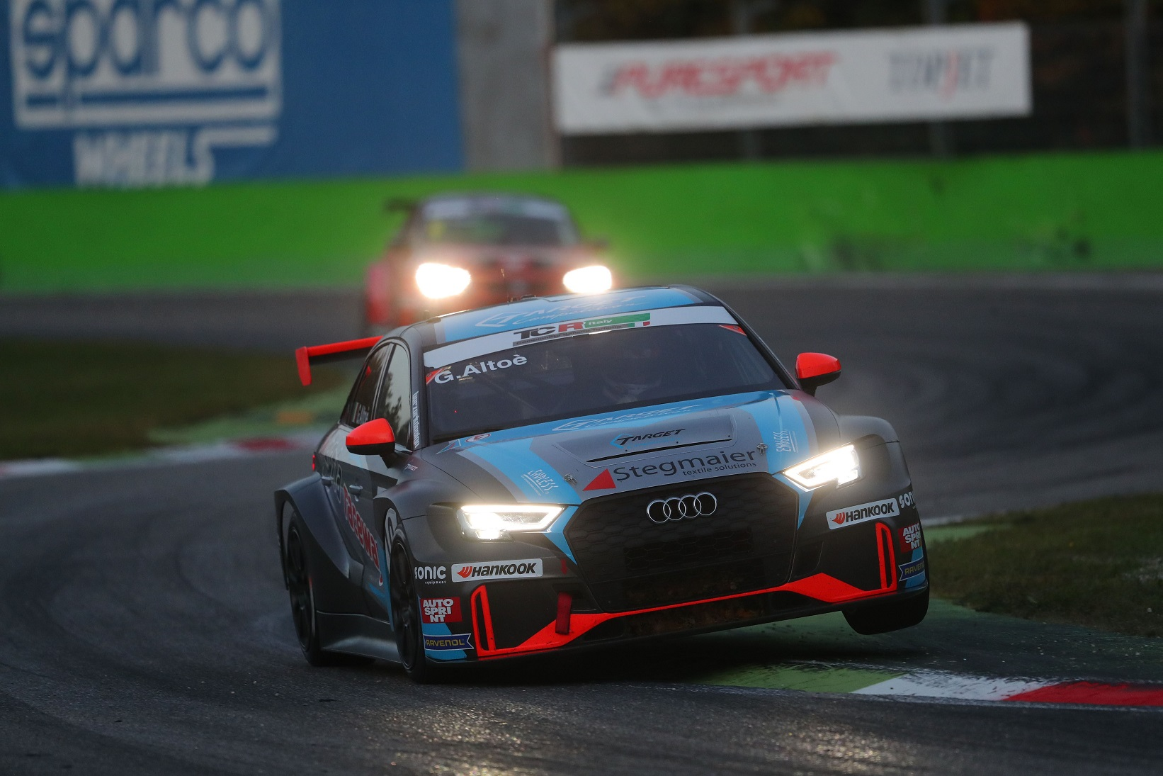 Giacomo Altoè (Target Srl,Audi RS3 LMS TCR #10)