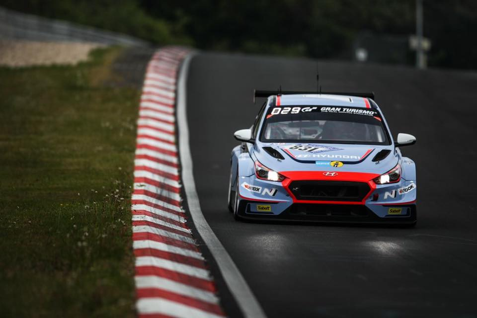 Target Competition Hyundai I30 N Tcr Scores Podium Result On