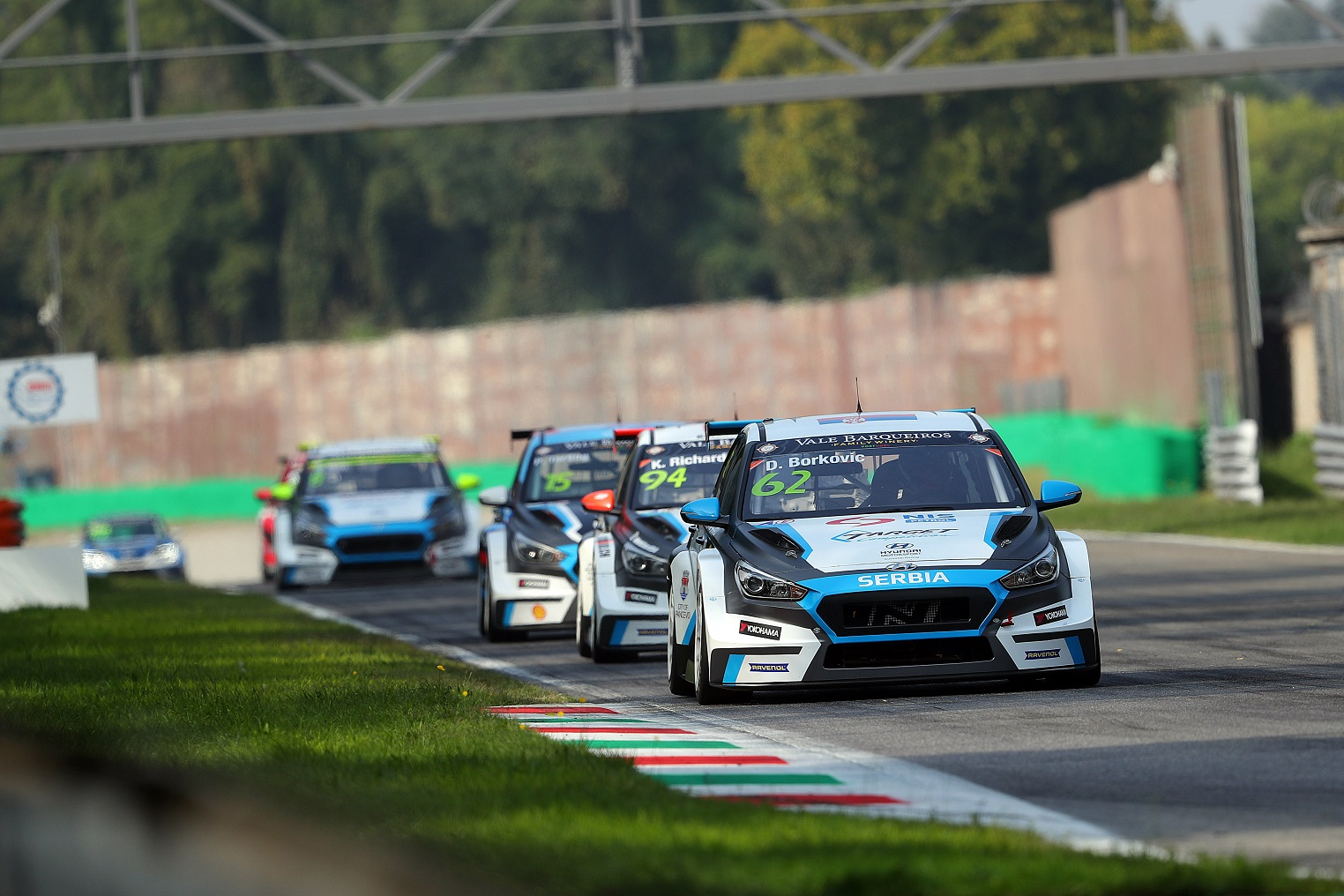TCR Europe Monza, Italia 21 - 23 September 2018