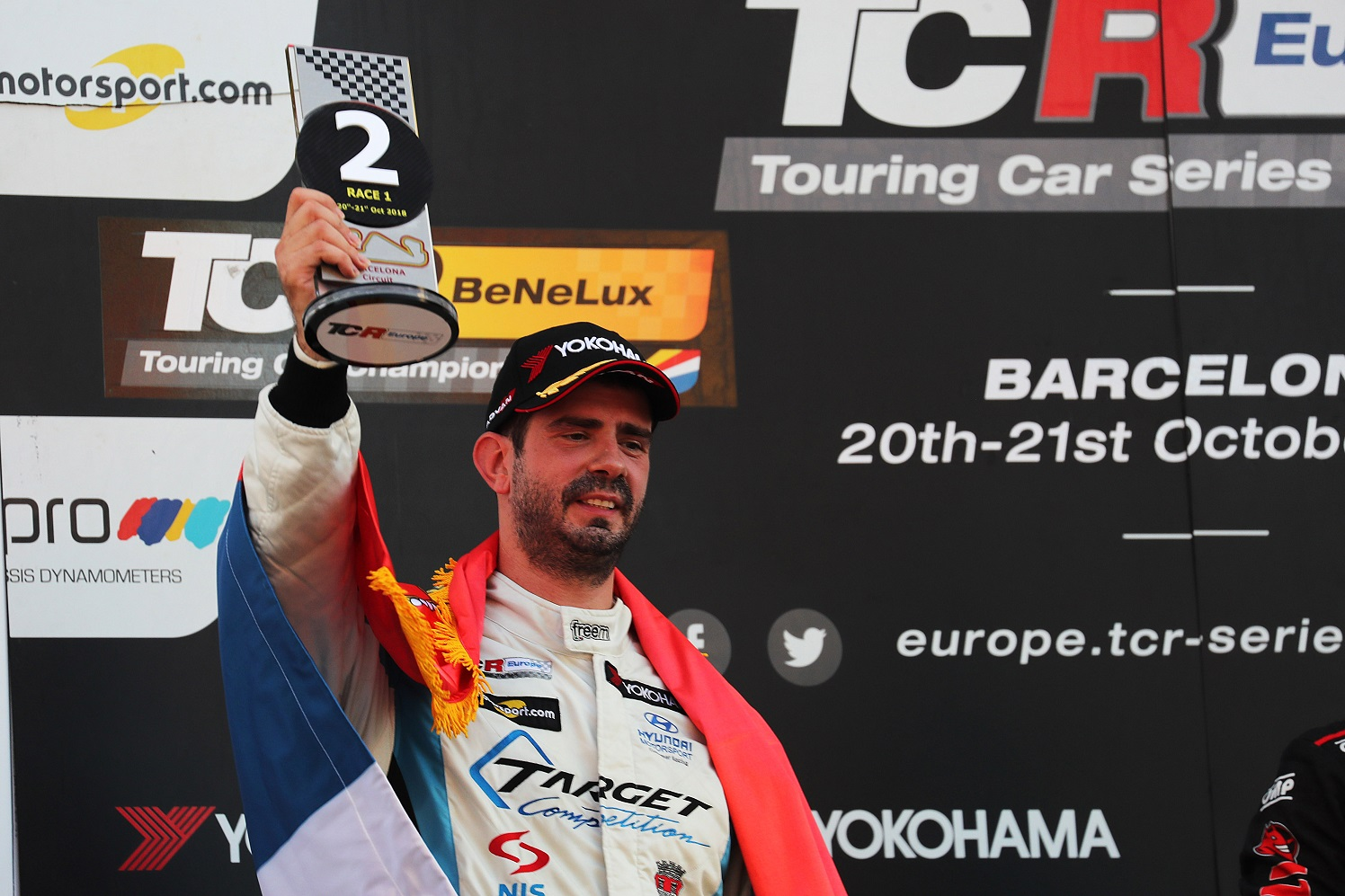 TCR Europe Barcelona, Spain 19 - 21 October 2018