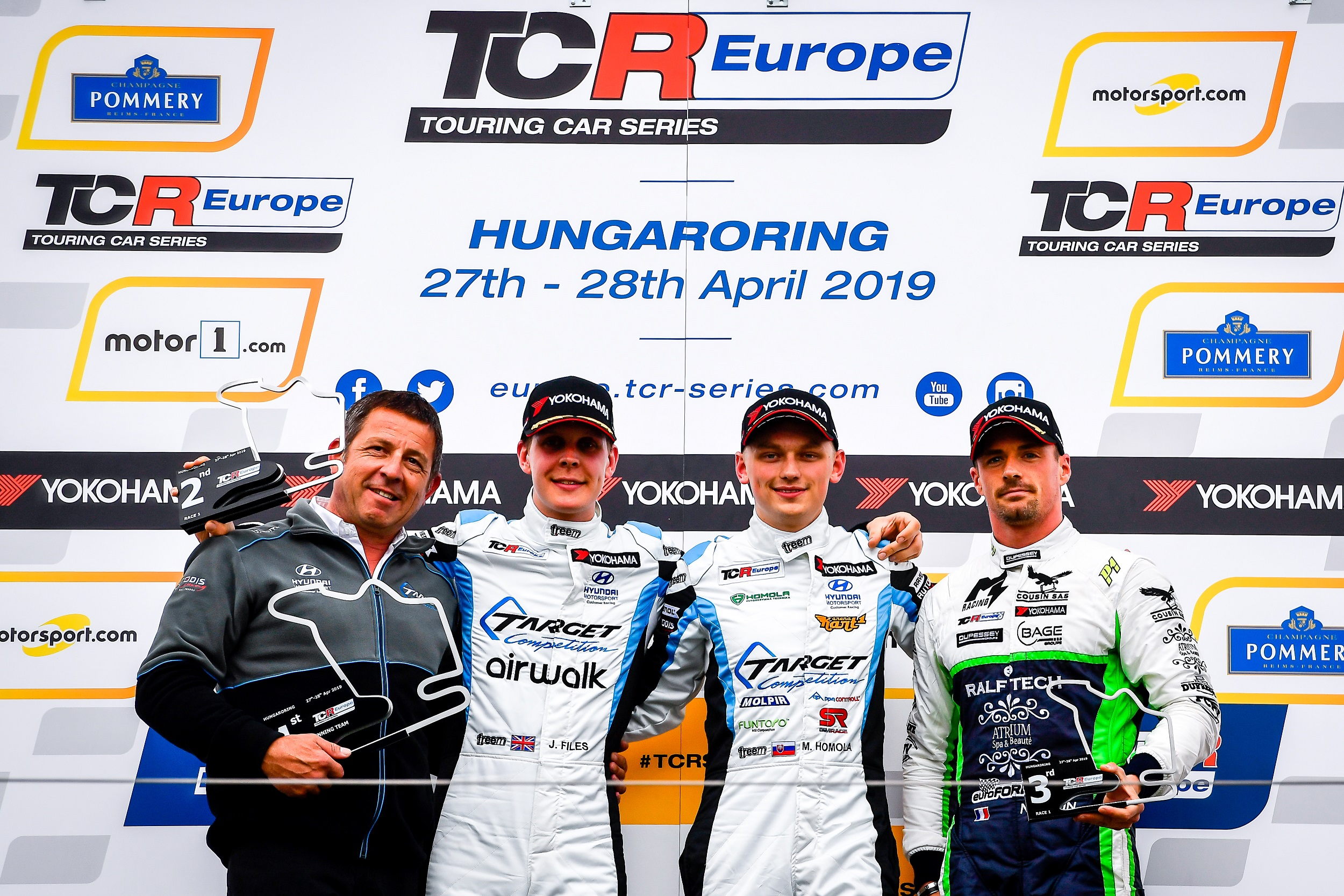 2019-2019 Hungaroring Race 1---2019 EUR Hungaroring R1, podium_2