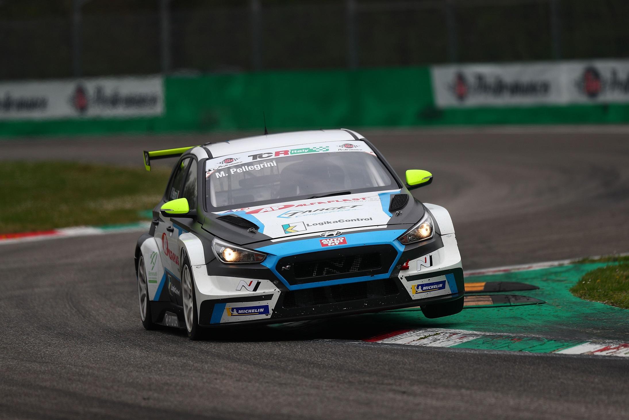 Marco Pellegrini Anatrella (Target Competition,Hyundai i30 N TCR #67)
